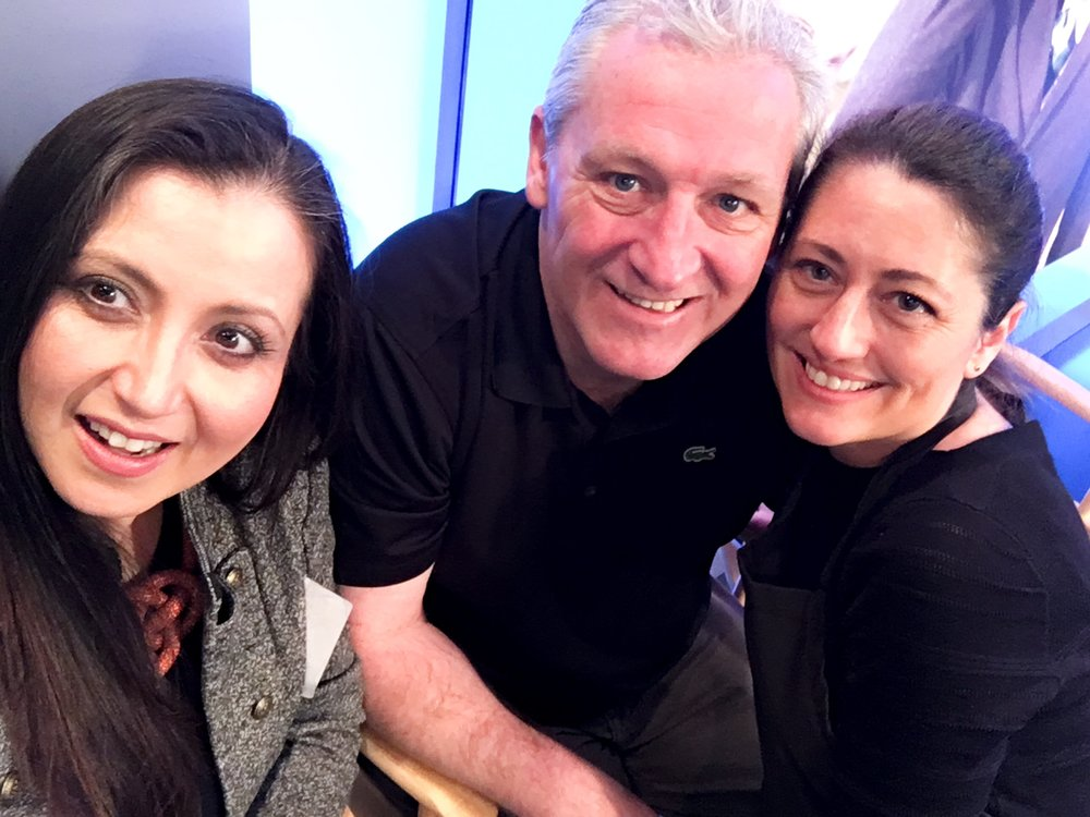 KO Integral Marketing with The Macleans of Dunbri's At NBC Washington