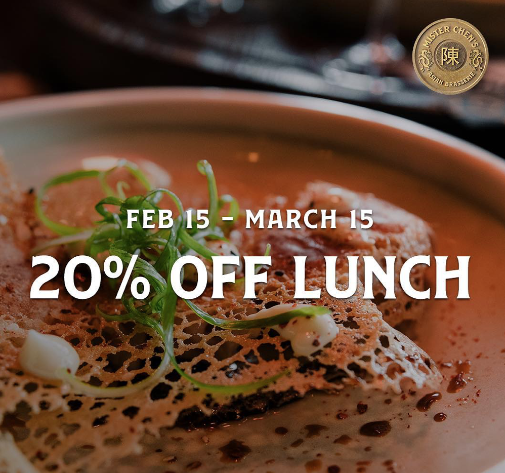 Mister Chen's Calgary Lunch Promo