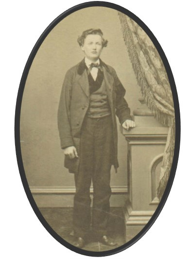 Christian Dodson as a young man