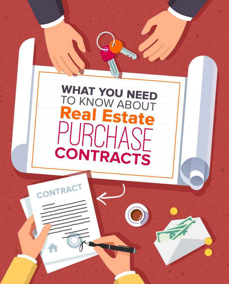 What You Need To Know About Real Estate Purchase Contracts