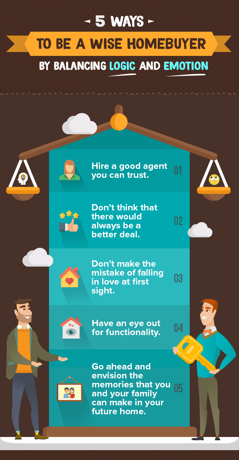 5 Ways To Be A Wise Home Buyer By Balancing Logic And Emotion