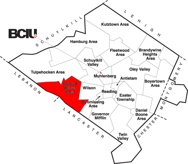 Berks County School District Map - Conrad Weiser.png