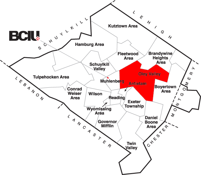 Berks County School District Map - Oley Valley.png