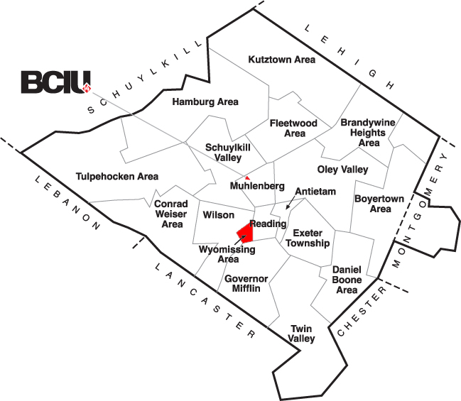 Berks County School District Map - Wyomissing.png