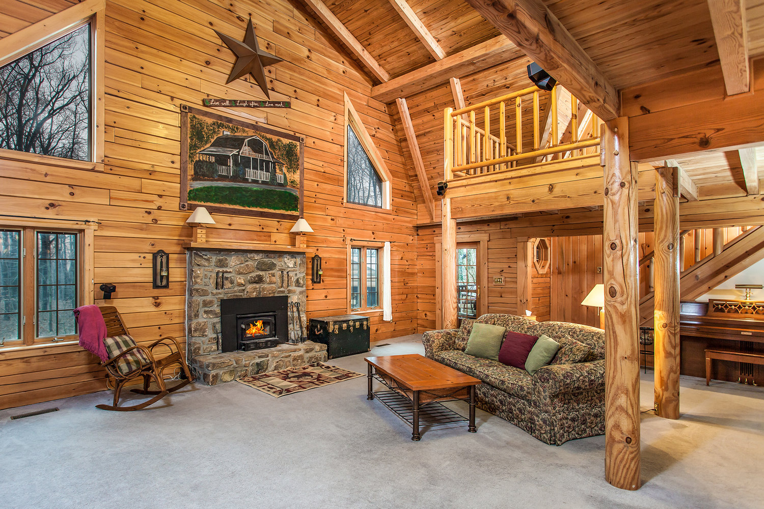 Log Homes For Sale in Berks County, PA | Jeffrey Hogue Realtor