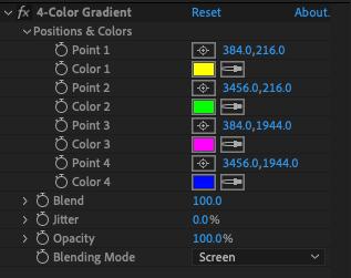 4-Color Gradient -