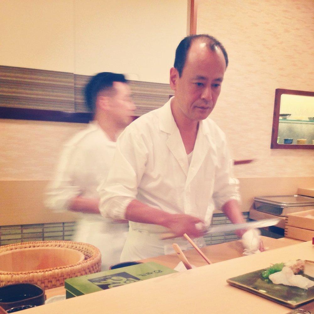 """Jiro Dreams of Sushi"", Sukiyabashi Jiro Roppongi Hills, Minato, Tokyo, Japan"