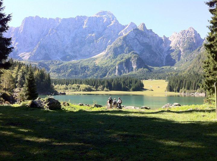 Lacs de Fusine, Italy
