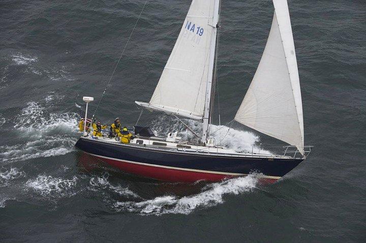 Open Ocean Sailing, Atlantic (I'm waving)