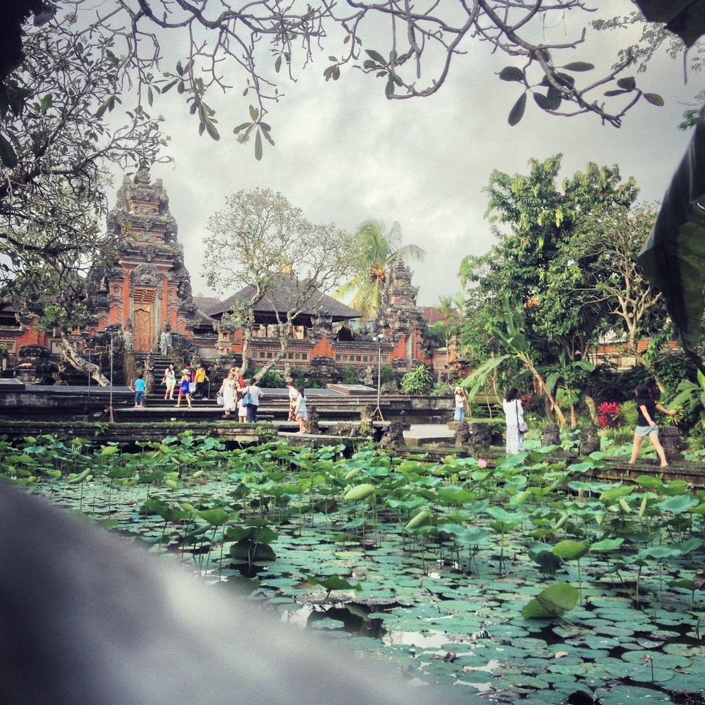 Water Lily Temple, Ubud, Bali