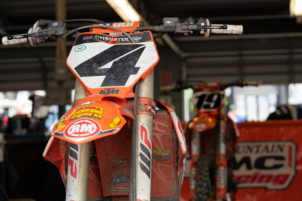 Two now, three later? With Benny Bloss expected to be back on the bike sometime soon and racing the Lucas Oil Pro Motocross Championship, there's talk that the Rocky Mountain ATV-MC/WPS/KTM team could keep Justin Bogle under the tent for the summer. If that happens, it shouldn't be a big surprise, as Bogle has brought a few sponsors to the team and has meshed well with Team Manager Michael Byrne. Keep an eye on this as the season winds down.