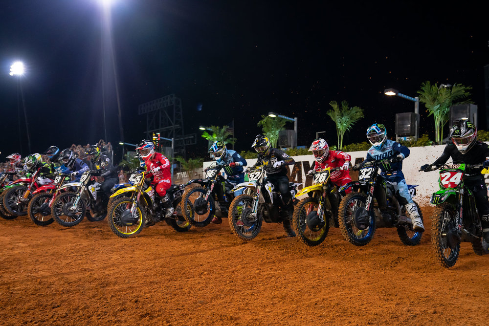 Blast off in the 250 Main Event…
