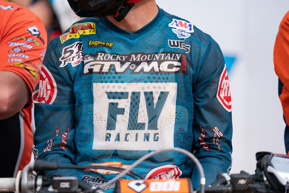 FLY Racing always brings out their Kinetic Mesh line of gear at Daytona and this summer's designs are just what we'd expect from the popular gear brand. Simple, clean, and so well ventilated you can see right through the 2019 offering is sure to be popular in warmer climates.