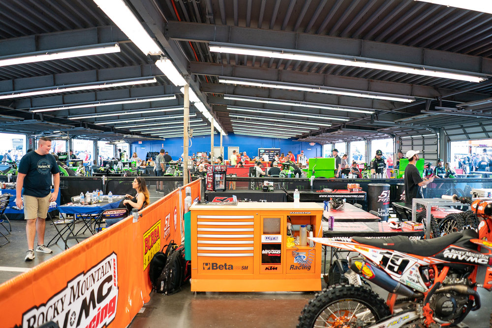 We like the garage pit setup of Daytona. With Minneapolis and Detroit being too cold or inconvenient for teams to work outside, almost all have resorted to working in the close confines of stadium hallways in recent weeks. The vibe at Daytona is somewhat similar, with everyone in full view of each other, but the comradery is tough to ignore. At Indy we will be back to the usual pit setup with outdoor temps in the mid 40s. See you there.