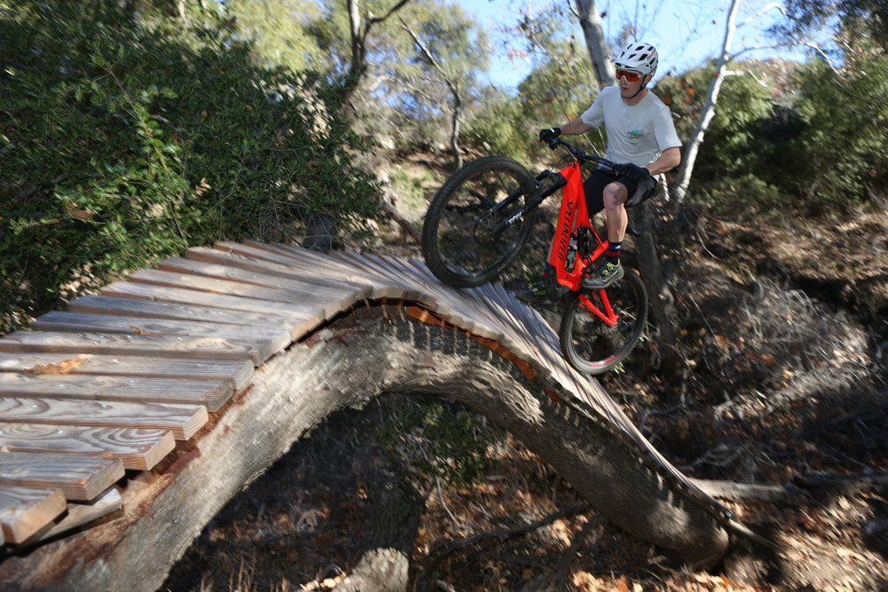 Who says pedal-assist MTBs can't get rad? Spencer Rathkamp demonstrates.