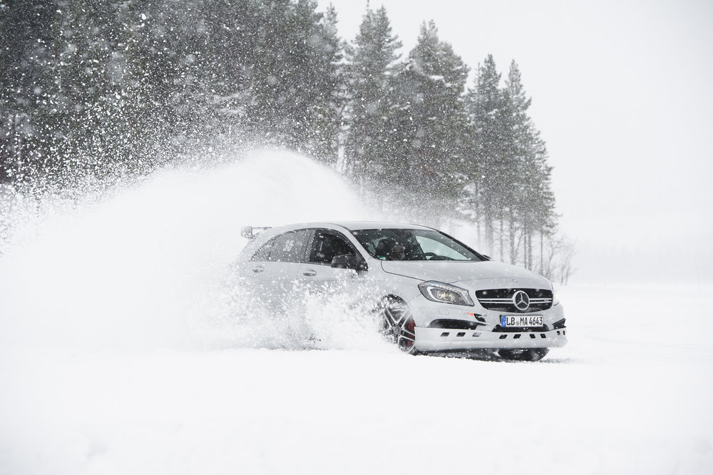 VIP Drive For Good On Ice - by AMG driving academy- - 23 - 26 Februari 2018Arjeplog, the place to be for driving on ice! part of the entry-fee was for charity. one of the most special experiences with a car!