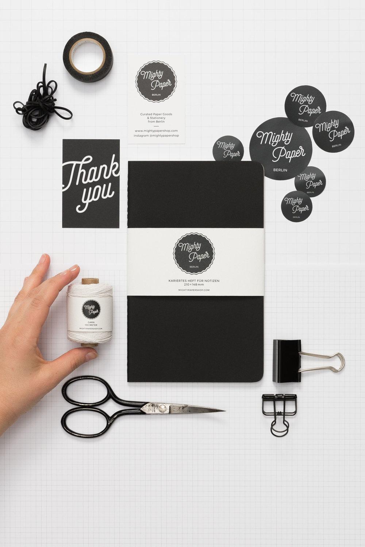 Lena Hanzel – Visual Identity – Mighty Paper