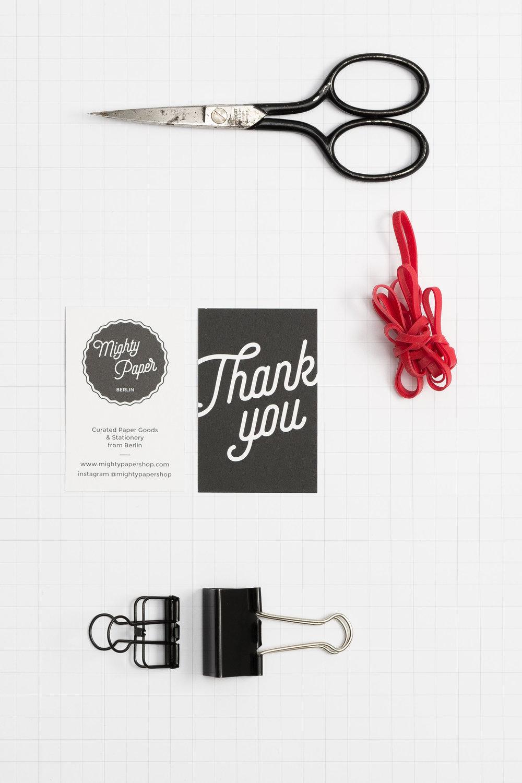 Lena Hanzel – Visual Identity / Mighty Paper