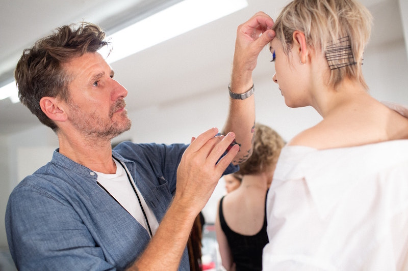 Editorial Stylist & ARROJO Creative Director Paul Merritt in his zone.