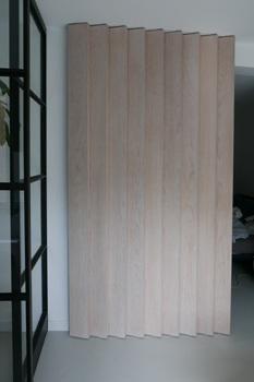 interieuroplossingen: Lamellenwand gesloten
