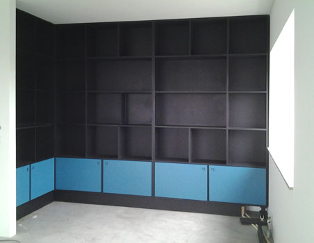 meubels op maat: boekenkast