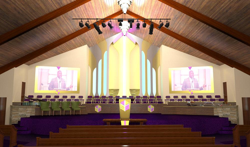 St. Bartley, proposed design, Huntsville, AL
