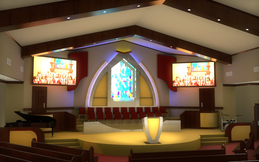 St. Mark, proposed design, Huntsville, AL