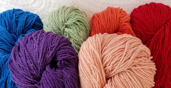 Cestari Vermont yarn is lightly processed and is machine washable!
