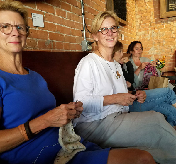 My Sister Knits, Wind Down Wednesday, Fort Collins, social knitting