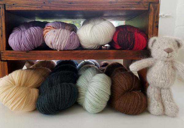 My Sister Knits, YOTH yarns, Fort Collins, KAL, Knit Along, Tot le Matin yarn
