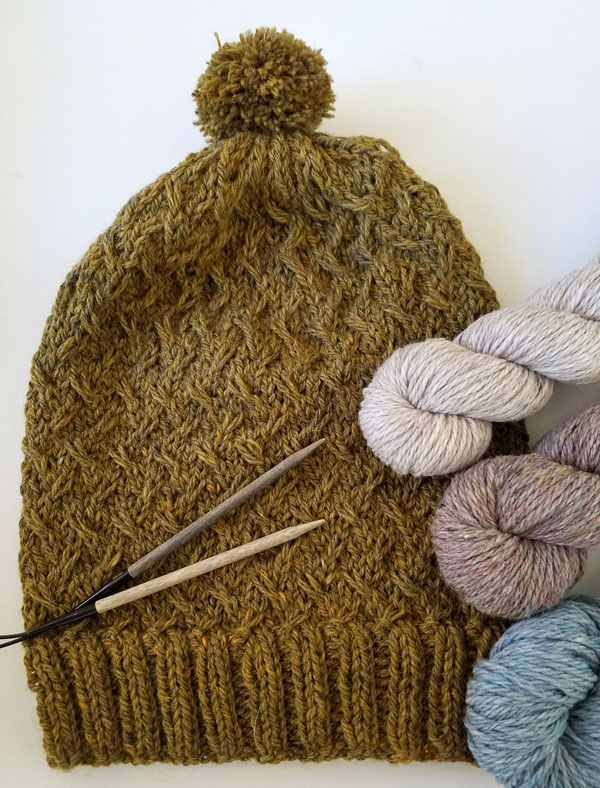 Pollen Hat, Andrea Mowry, Drea Renee Knits, My Sister Knits, northern Colorado