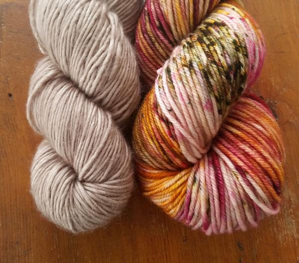 My Sister Knits, Hue Loco yarns, Tosh Merino DK, madelinetosh, Colorado, cowl, DK weight yarn