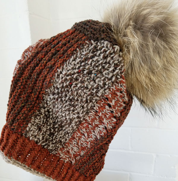 My Sister Knits, Fort Collins Co, local yarn shop, Brooklyn Tweed Loft, wabarna pom poms