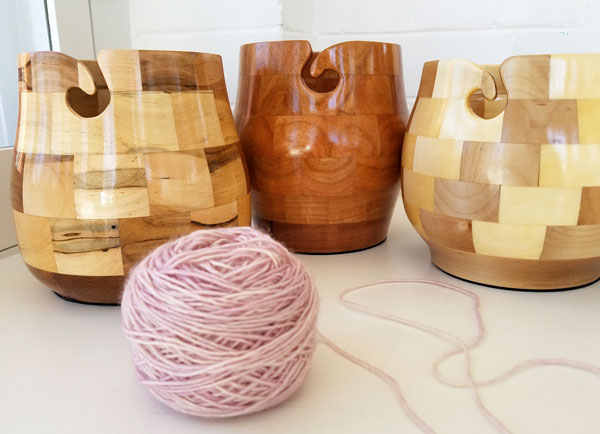 My Sister Knits, northern Colorado, lys, wooden yarn bowls