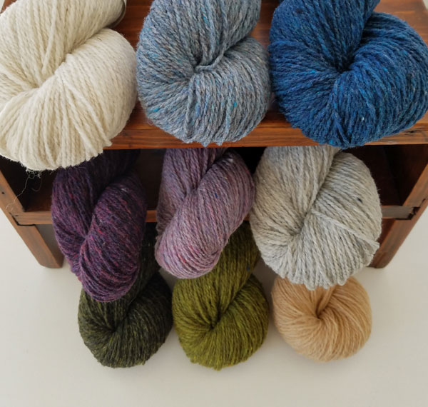 My Sister Knits, northern Colorado, Loft, woolen spun yarn, Brooklyn Tweed