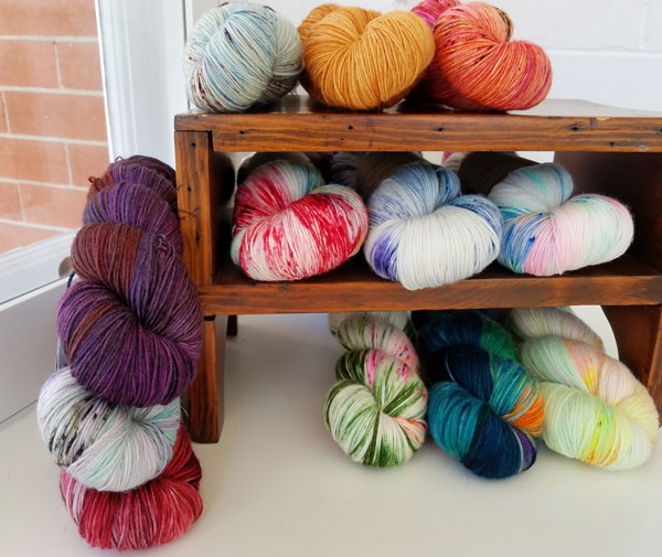 My Sister Knits, Fort Collins, local yarn shop, sock yarn, Qing, Olann, A Homespun House, Tot le Matin