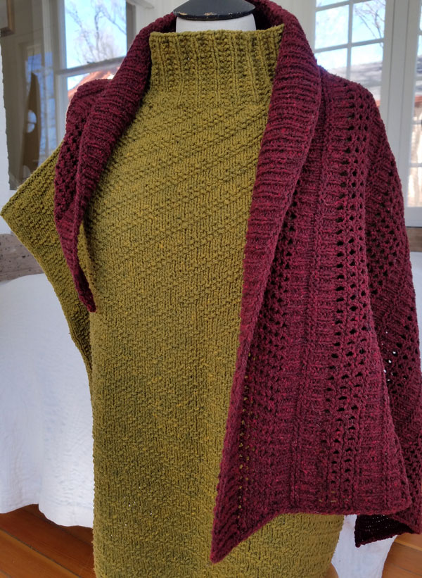 My Sister Knits, Julie Hoover, Kirwin, Kate Salomon, Wintery Mix, Green Mountain Spinnery, local yarn shop, northern Colorado