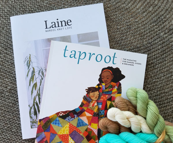My Sister Knits, local yarn shop, Fort Collins Colorado, Laine, taproot,