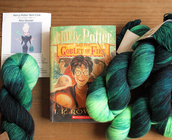 My Sister Knits, Fort Collins, Fort Collins CO, Harry Potter Yarn Club