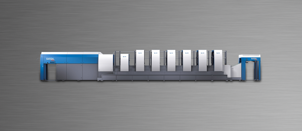 "7-Color KBA 106 press, (29"" x 41"") with LED U.V."