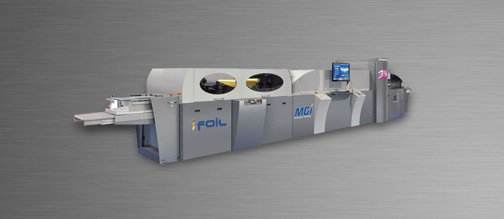 MGI Digital 3D spot raised UV machine