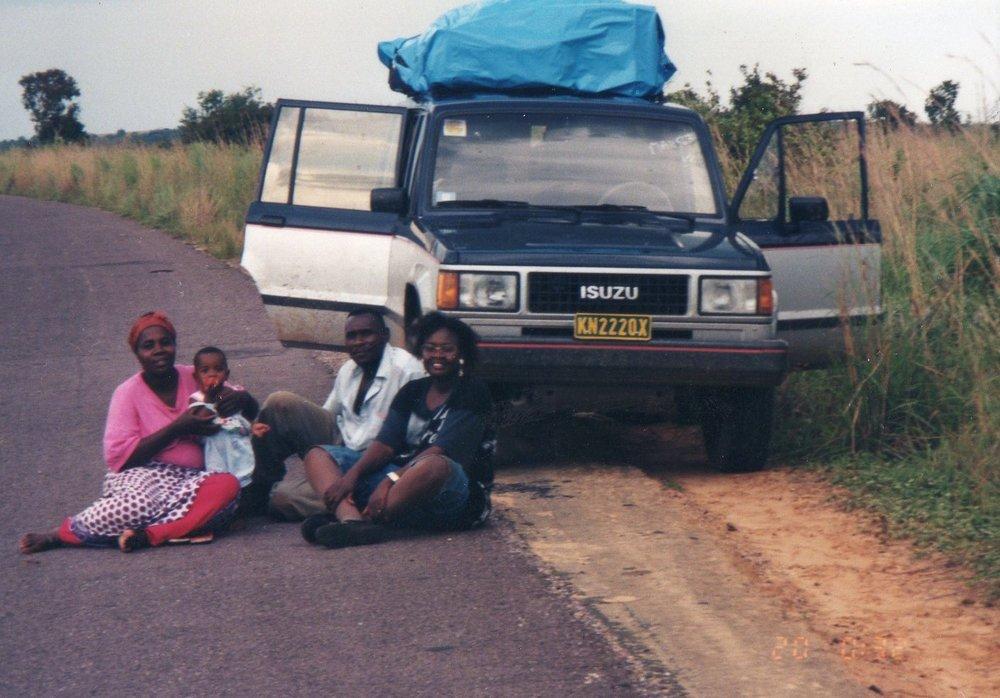 Kandale Trip with Enoch Kashitu as a baby - 1995
