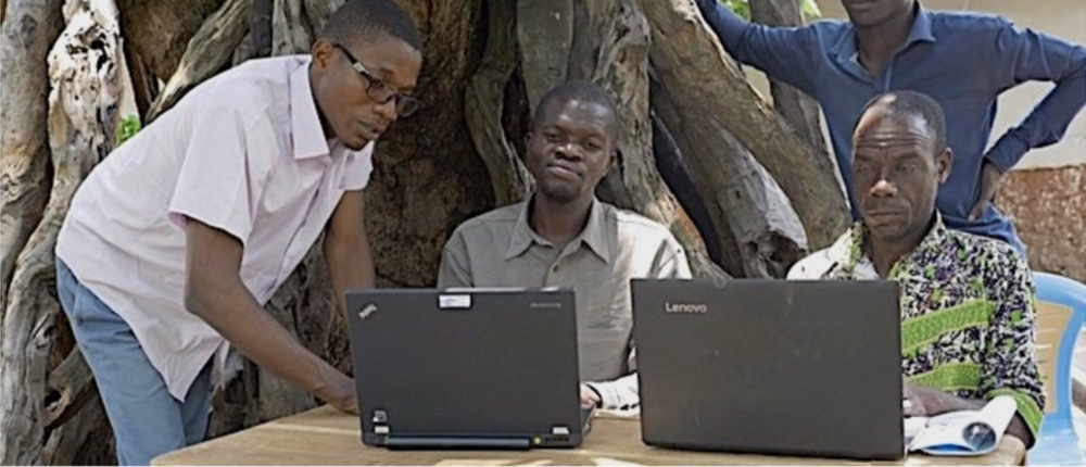 The electrification of the new multipurpose building and the presence of laptop computers means computer literacy is within reach for Kandale's faculty and students.