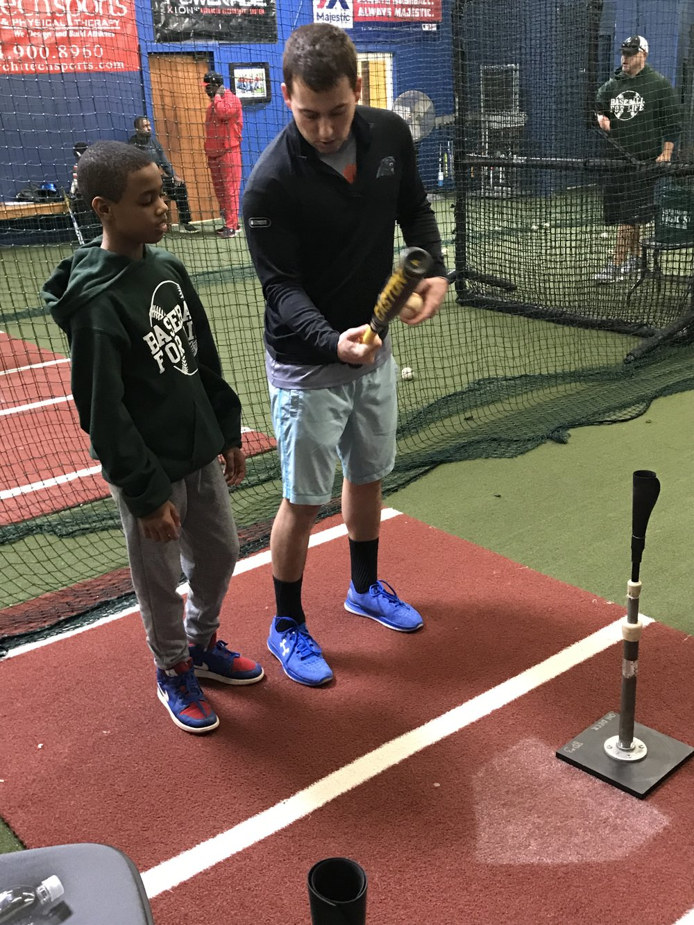 """- """"Baseball for Life is a very impressive organization. The positive impact this organization will have on the greater Charlotte and surrounding area will be enormous. It is truly a service organization to give back. Baseball has been very good to me….and I am blessed to have a vehicle to show my appreciation!!! """"Hal Bagwell 