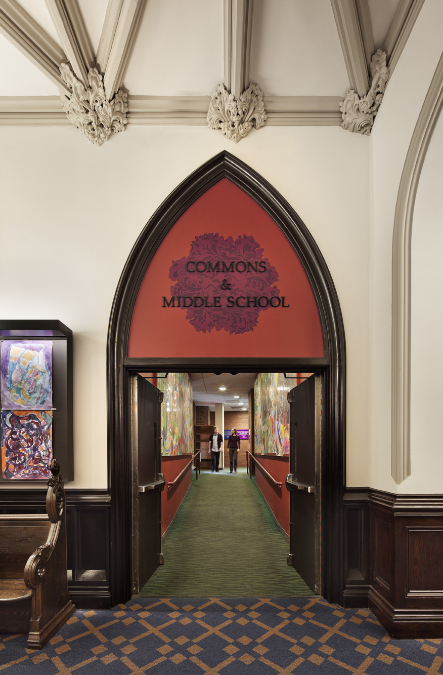 PACKER COLLEGIATE INSTITUTE  Commons and Administration