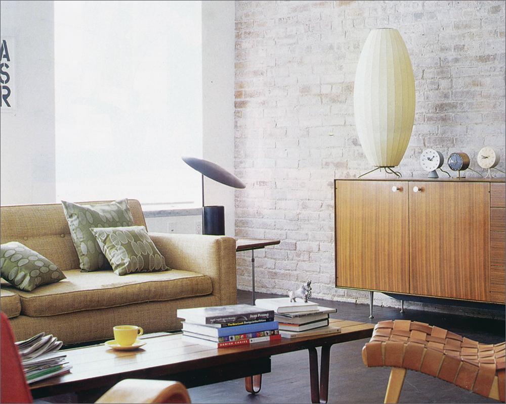 Metropolitan Home: Mod Loft - JANUARY/FEBRUARY 2000Metropolitan Home selected our