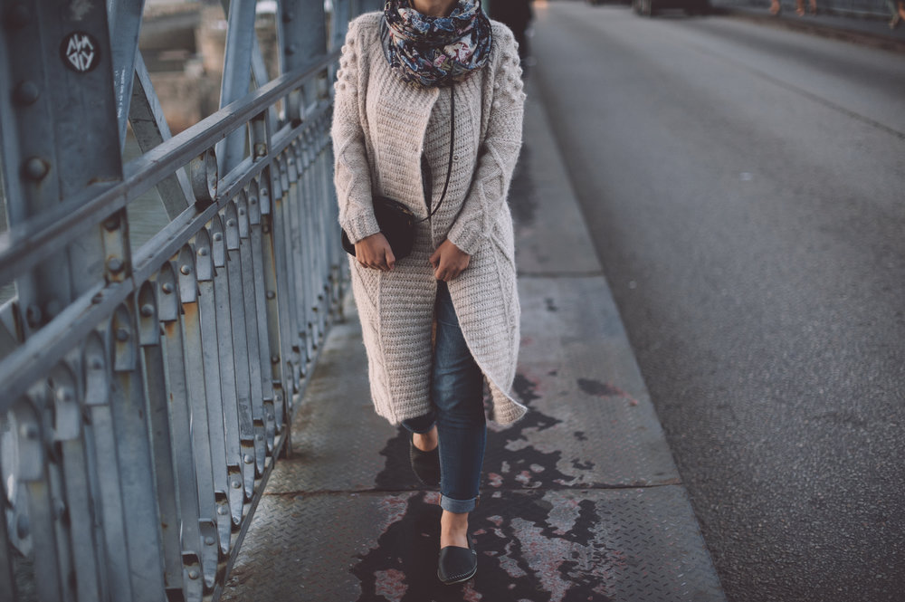 Open Sweater - …the perfect transitional piece!
