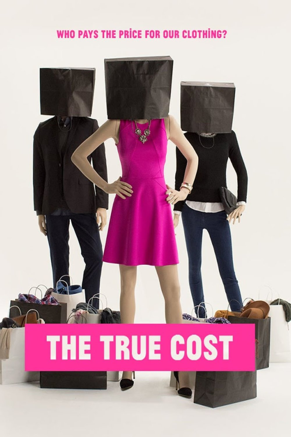 The True Cost - This is a story about clothing. It's about the clothes we wear, the people who make them, and the impact the industry is having on our world. The price of clothing has been decreasing for decades, while the human and environmental costs have grown dramatically. The True Cost is a groundbreaking documentary film that pulls back the curtain on the untold story and asks us to consider, who really pays the price for our clothing?