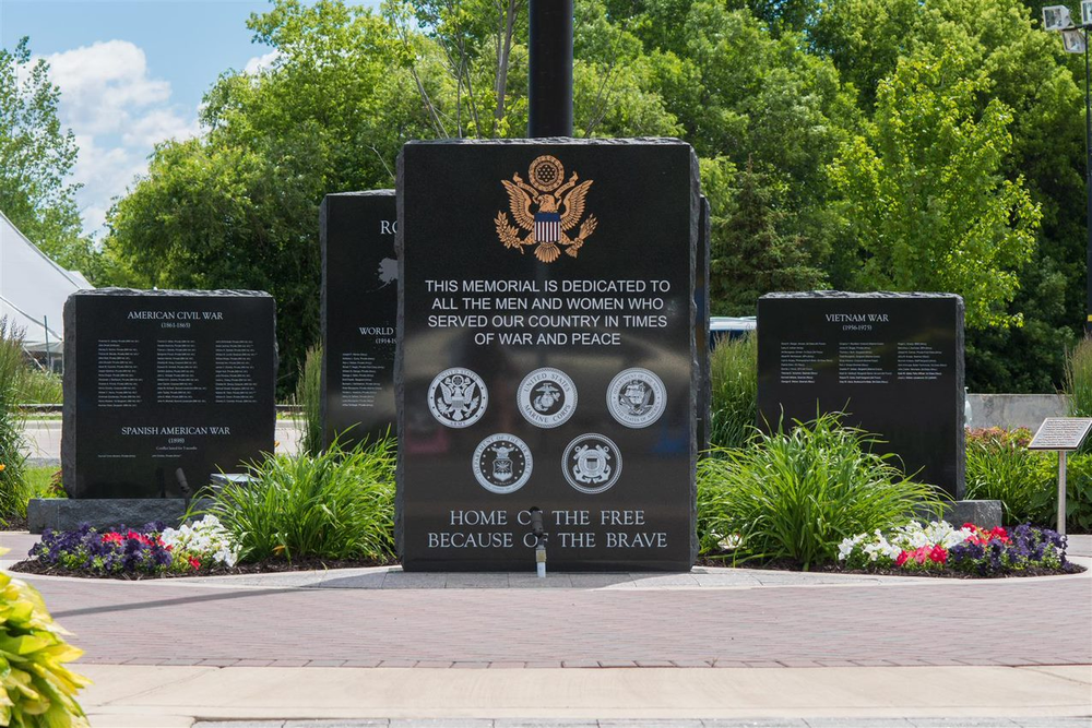 The Rogers Veteran's Memorial will eternally provide veterans, their families, and our community a place to reflect and remember the service and sacrifices that have been made, and continue to be made to protect our freedom. - Veterans Memorial