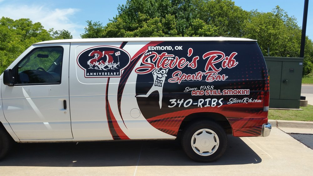Steve's Rib - Check out our Catering Van